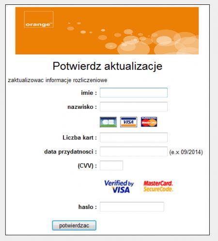 CERT Orange Polska: uwaga na atak phishingowy