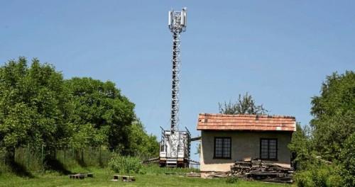 antena na kółkach