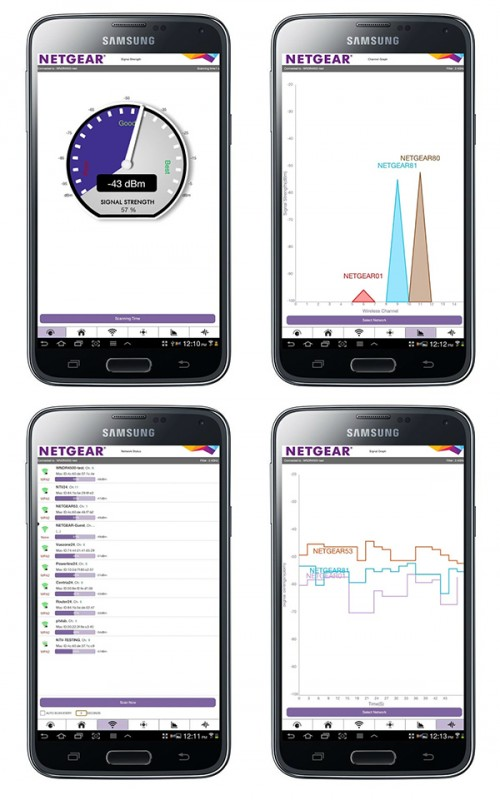 Aplikacja do analizy sieci WiFi
