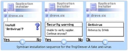 Malware na urządzenia mobilne ma już 10 lat