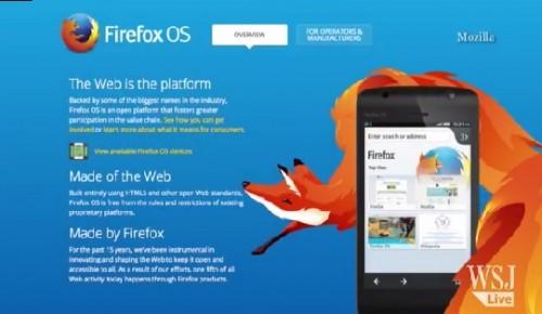 Mozilla: smartfon z Firefox OS za 25 USD