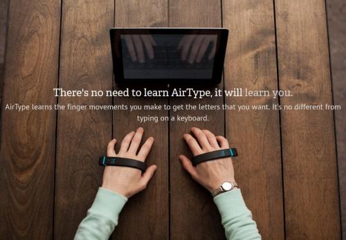 AirType - klawiatura