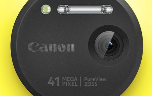 Lumia z obiektywem Canon