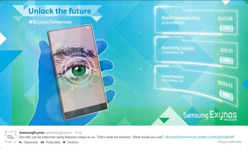 Samsung Galaxy Note 4 z czytnikiem tęczówki oka?