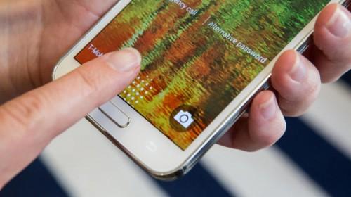 Skaner odcisków palców Galaxy S5