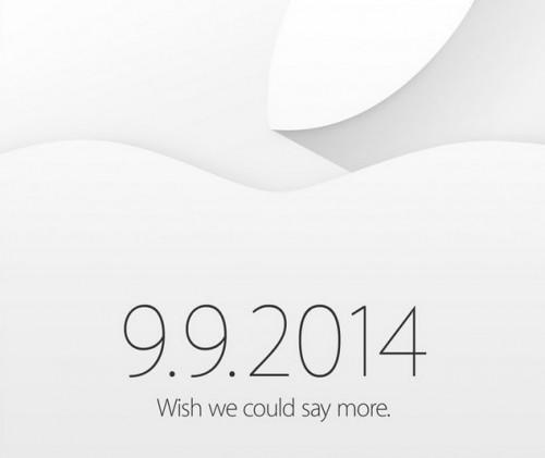 Zaproszenie na konferencję Apple 2014