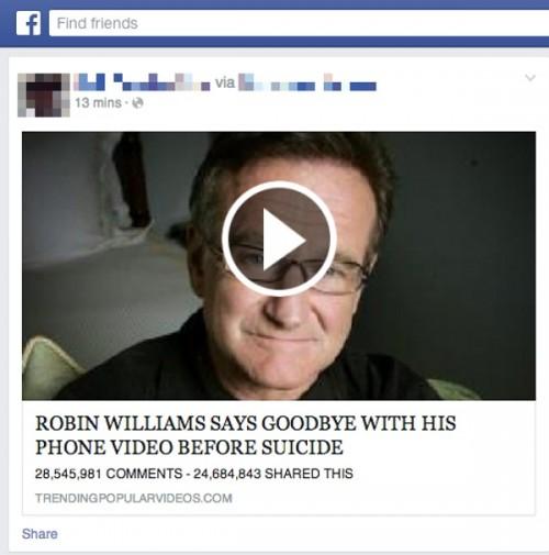 Oszustwo: zobacz jak Robin Williams