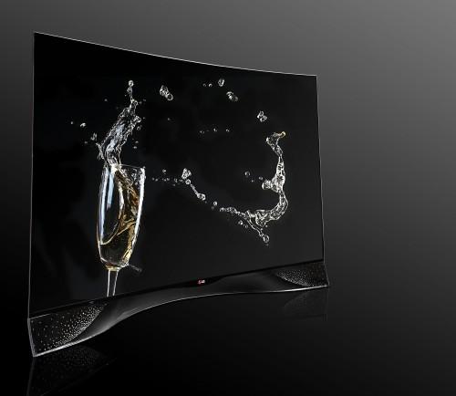 LG: telewizor OLED zdobiony kryształami Swarovskiego