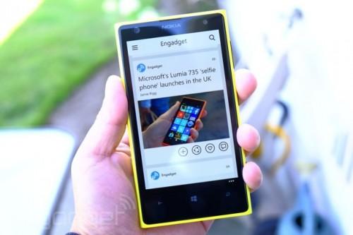 Flipboard na Windows Phone