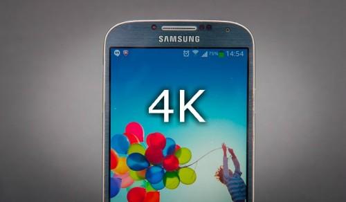 4K w smartfonie