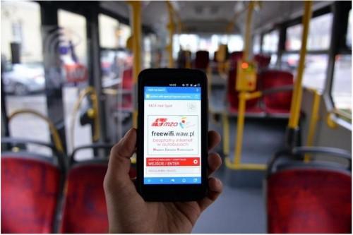 Darmowe hotspoty w autobusach