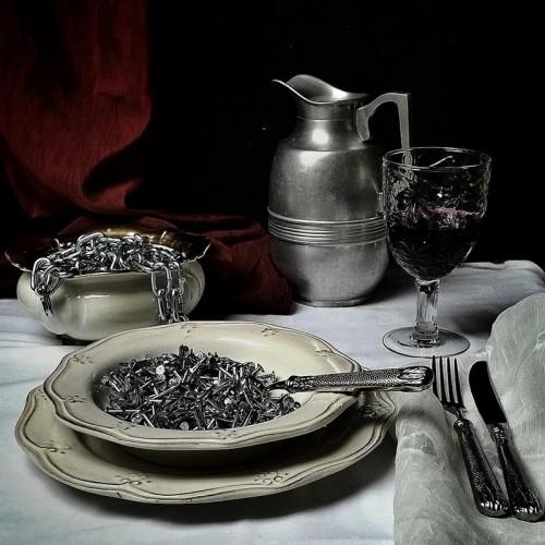 Dinner - fot. Agnieszka Domańska. 1 miejsce w kategorii STILL LIFE
