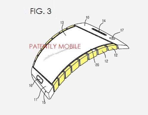 Samsung elastyczna obudowa