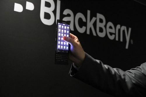 BlackBerry zakrzywiony ekran