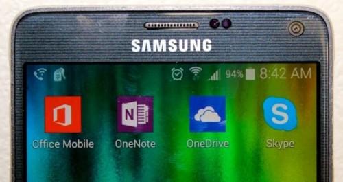 Aplikacje Microsoftu na Androida