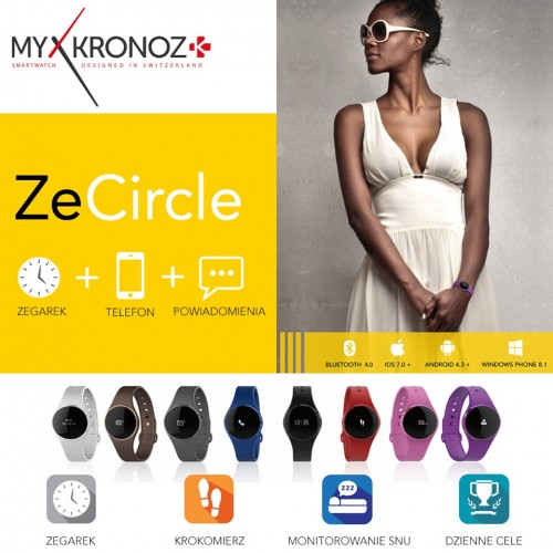 MyKronoz ZeCircle