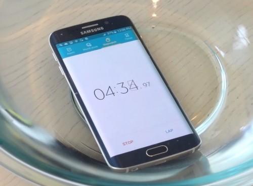 Galaxy S6 w wodzie