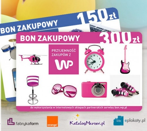 Orange: bon WP na zakupy on-line