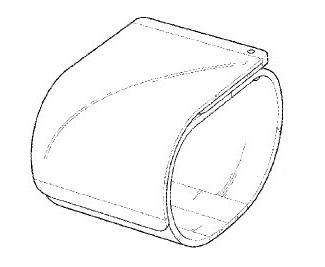LG smartfon na bransolecie