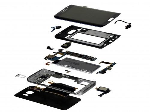 Galaxy S6 w częściach