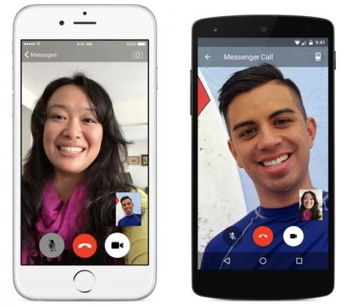 Facebook Messenger połączenia wideo