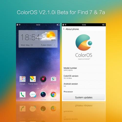 ColorOS 2.1.0