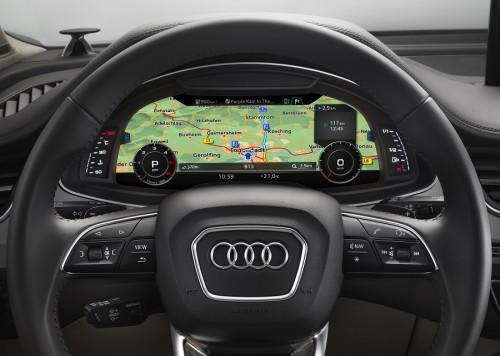 Audi rozwija program map nawigacyjnych