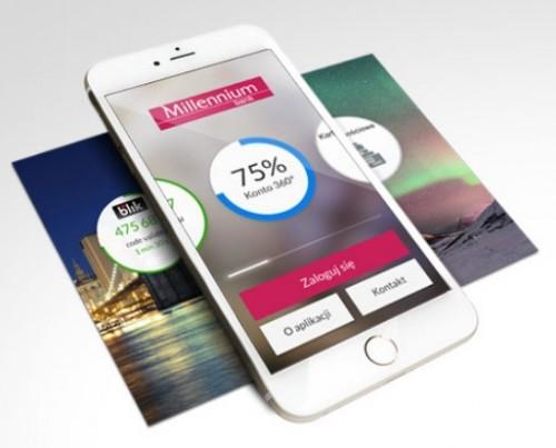 Bank Millennium - Aplikacja Mobilna dla Przedsiębiorstw