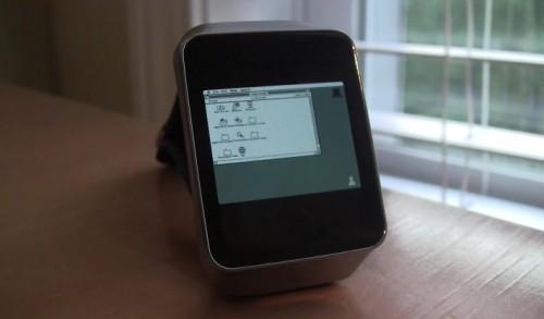 Macintosh II na smartwatchu