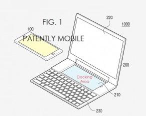 Samsung patent phablet-laptop