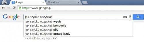 Co najczęściej chcą odzyskać Polacy pytając o radę Google?