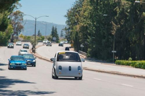 Samochody Google w terenie