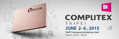 Co Plextor pokaże na Computex 2015