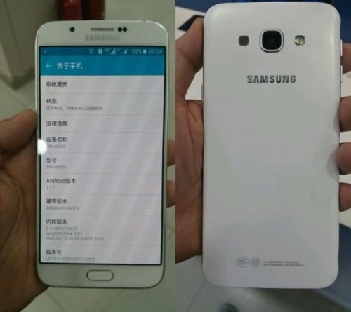 Samsung Galaxy A8 przecieki