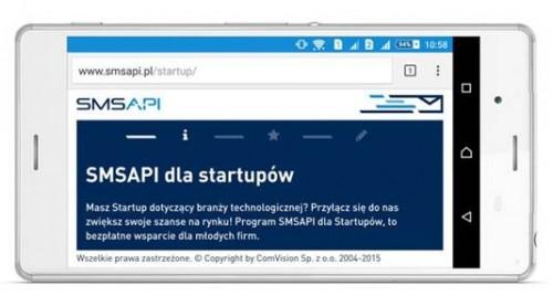 SMSAPI dla Startupów