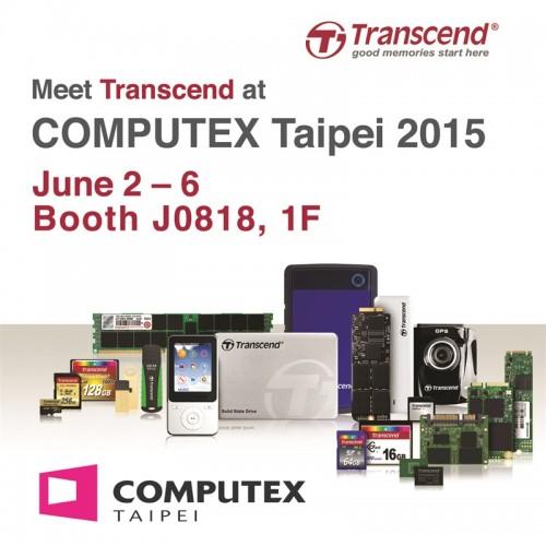 Computex 2015: TRANSCEND