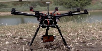 LG G4 na dronie