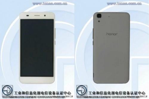 Huawei Honor 4A TENAA