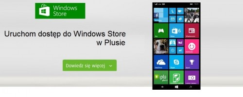 Dostęp do Windows Store w w Plusie