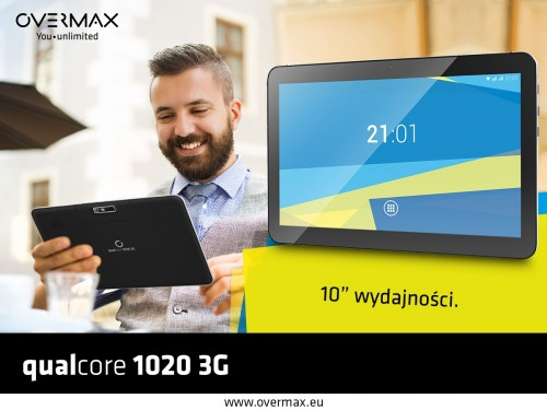 Overmax Steelcore 1020 3G