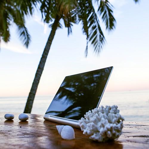 Lenovo Yoga Tablet 2 - wakacje