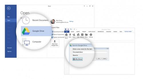 Wtyczka do Dysku Google dla Microsoft Office