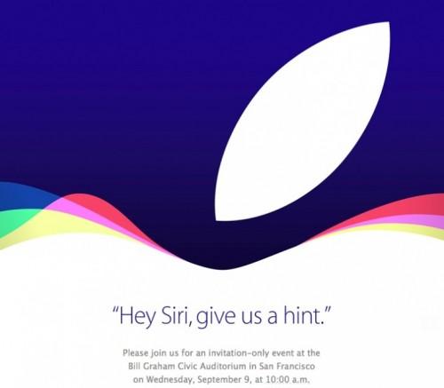 Apple zaproszenie na premierę iPhonea 6s