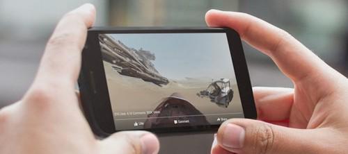 Facebook wprowadza filmy 360 stopni