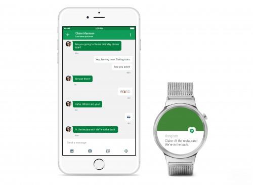 Android Wear ze wsparciem dla iPhonea