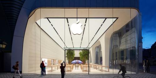 Apple Store w Brukseli