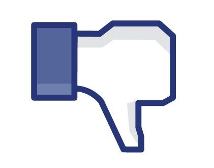 Facebook nie lubię