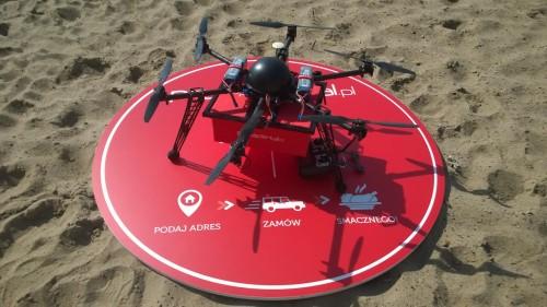 PizzaPortal.pl dostarcza jedzenie dronami