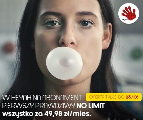 Heyah: no limit na wszystko