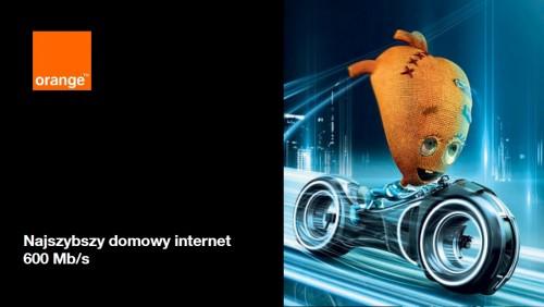 Supernova: najszybszy domowy internet 600 Mb/s